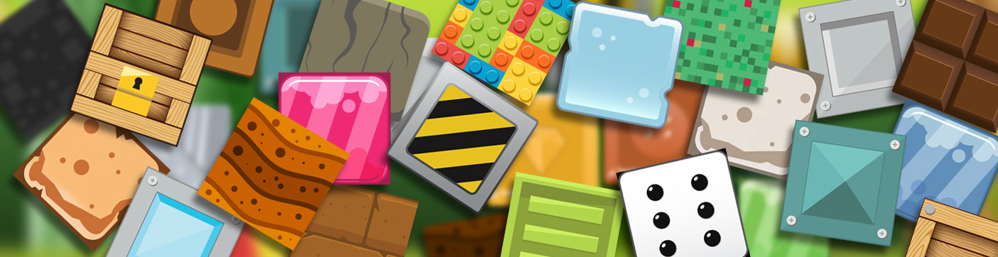 tiles 2d blocks variety art pack