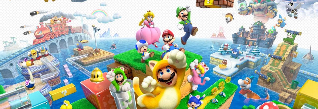 Super Mario 3D World's 4 Step Level Design   SCHOOL OF GAME